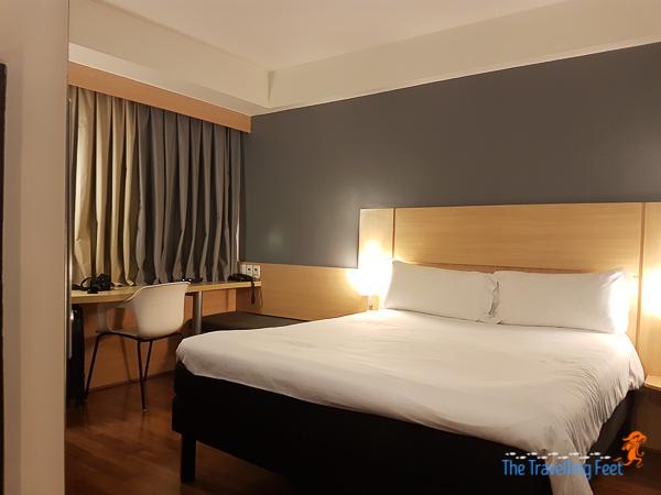 double bedroom at this hotel in Avenida Paulista