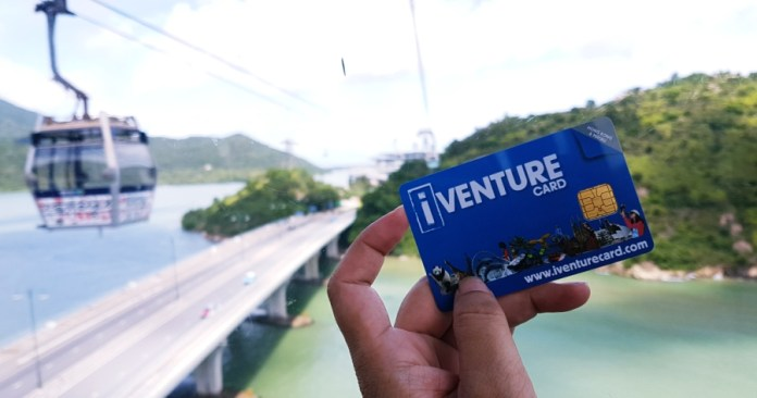 Exploring Hong Kong and Macau with an iVenture Card
