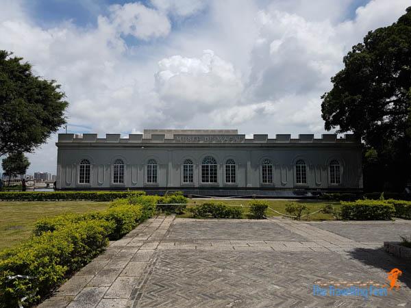 Museu de Macau at Mount Fortress