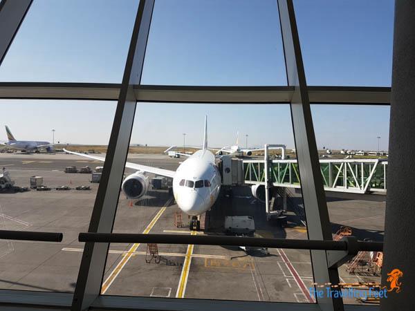 Ethiopian Airlines flight experience
