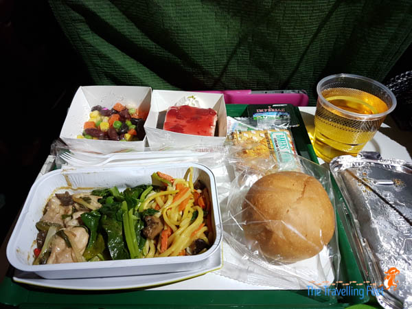 2nd meal Ethiopian Airlines - Manila to Sao Paulo flight