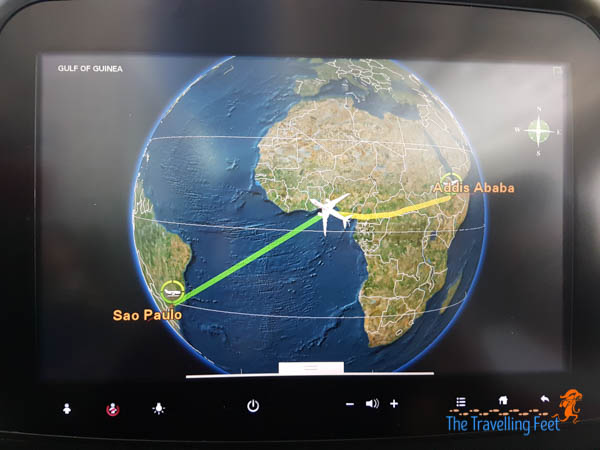 Ethiopian Airlines flight experience from Manila to Brazil
