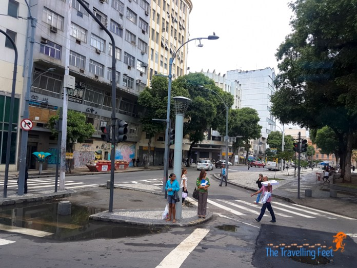 streets of Rio de Janeiro