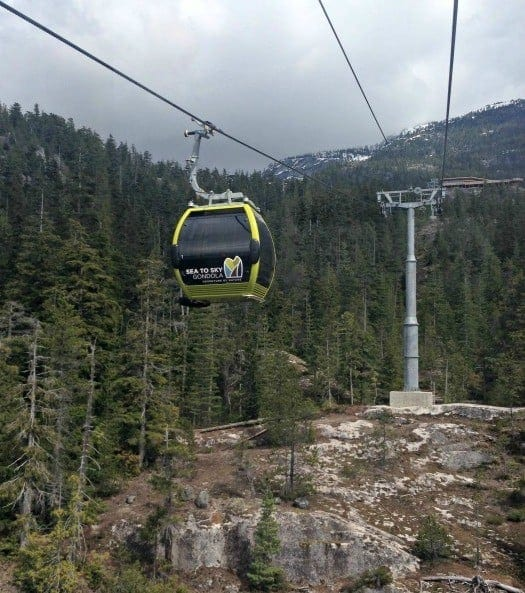 The Sea to Sky Gondola is the newest attraction along the beautiful Sea to Sky highway between Vancouver and Whistler that puts Squamish firmly on the map. (via thetravellingmom.ca)