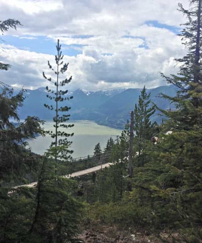High in the sky with the Sea to Sky Gondola, Squamish
