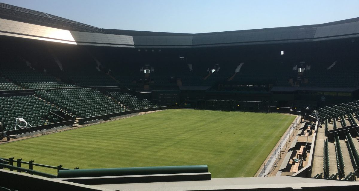 L'All England Tennis Club di Wimbledon!