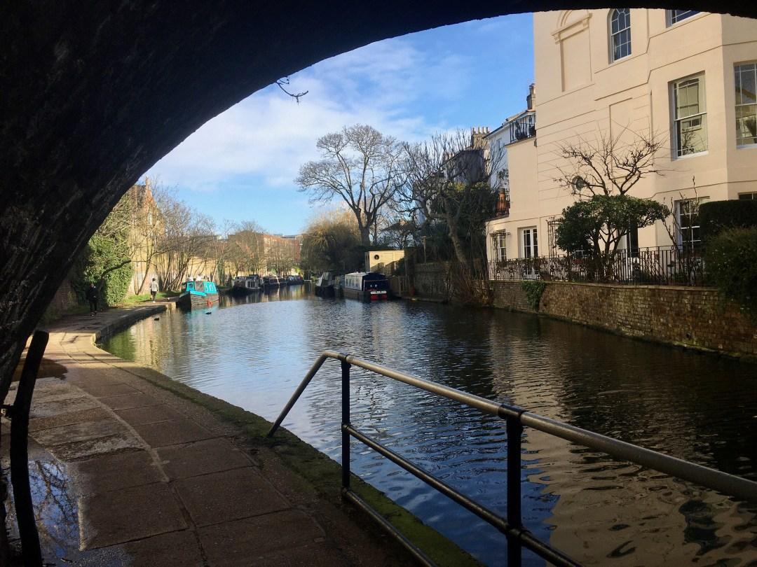 Regent's Canal verso Camden Town