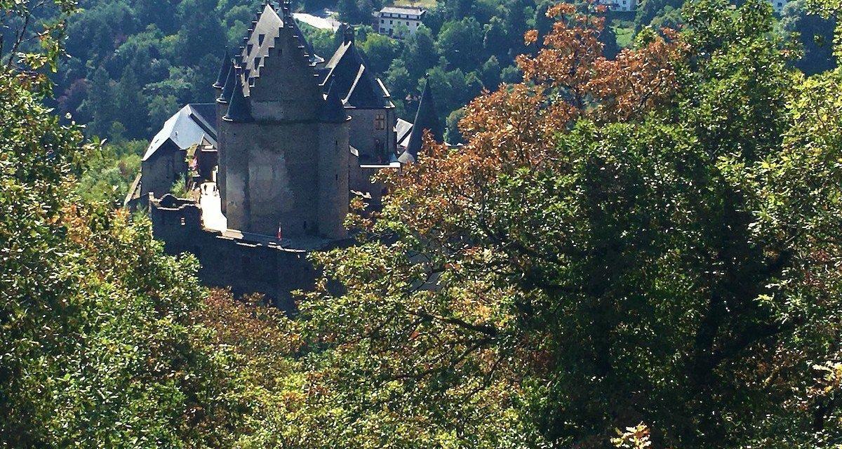 Vianden, un castello da favola nel Lussemburgo