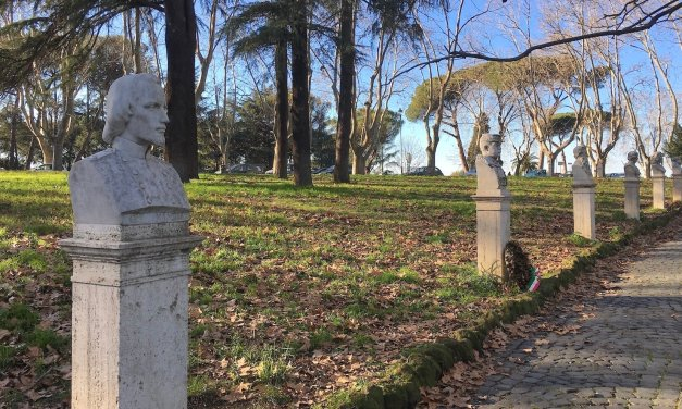 Una passeggiata sul Gianicolo