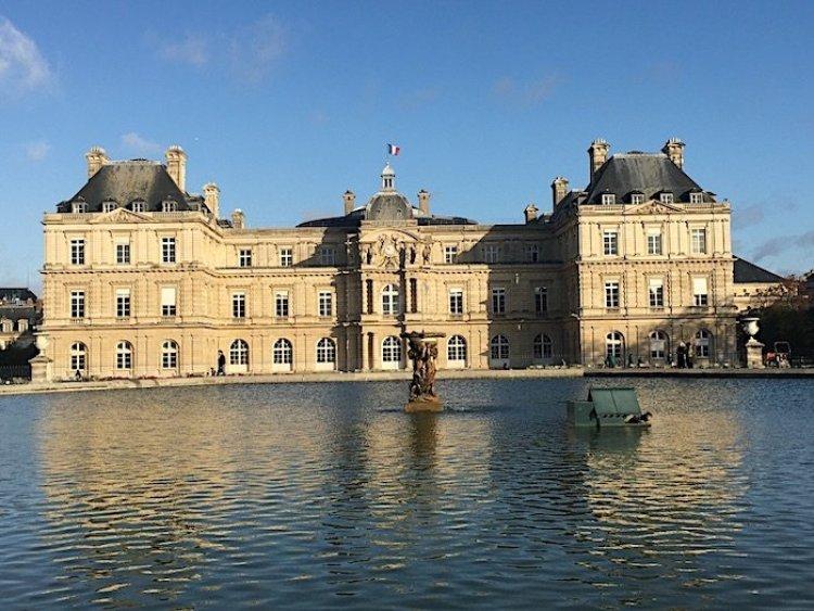 Facciata posteriore del Palazzo del Luxembourg