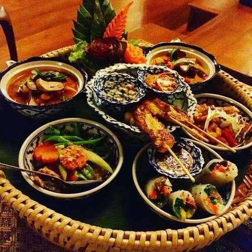 Lana style meal at Santhiya Koh Yao Yai