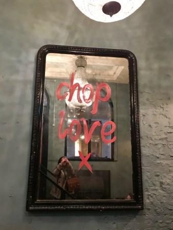 Chop Love at Blacklock