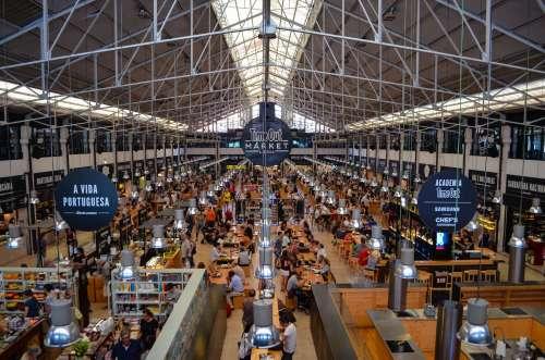 Where to eat - Mercado da Ribeira in Lisbon, Portugal