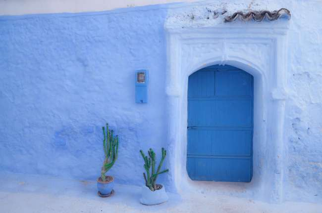 Blue doors of Chefchaouen, Morocco