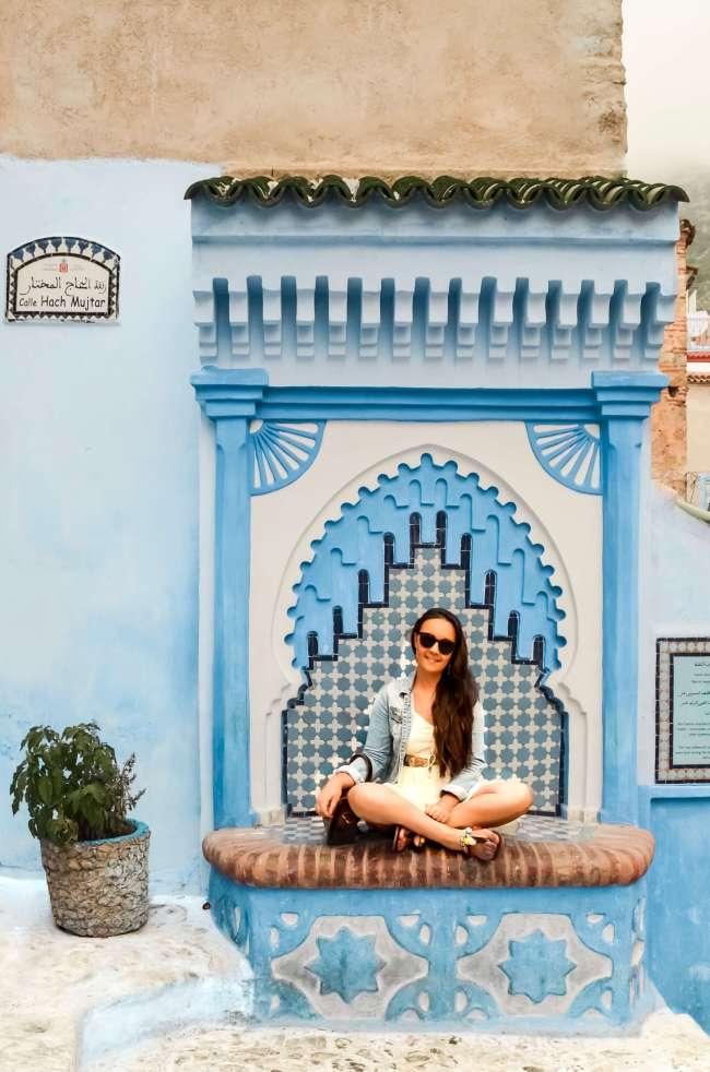 Exploring Chefchaouen, Morocco