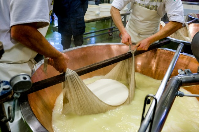Exploring Italy's famous food region - Parmigiano Reggiano production