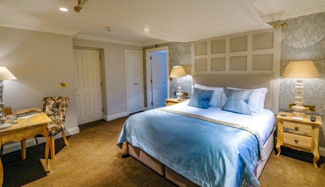 Staying at the Forest Side, Grasmere, Cumbria - Bedroom