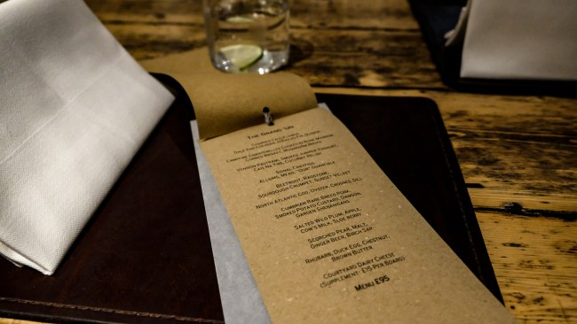 Dining at the Forest Side, Grasmere, Cumbria - Tasting Menu