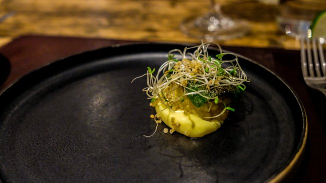 Dining at the Forest Side, Grasmere, Cumbria - Charred Cauliflower