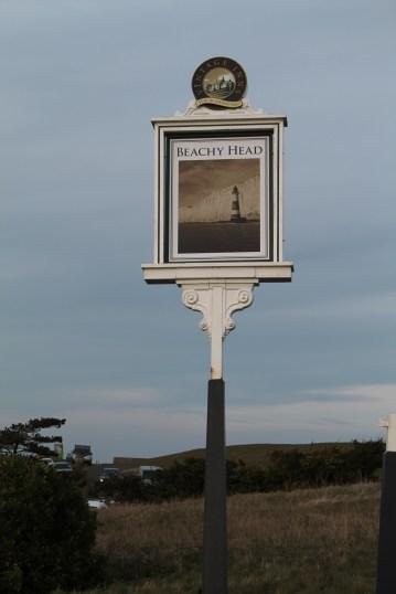 Beachy Head sign