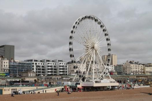 View of Brighton Wheel