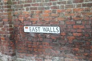 East Walls Sign