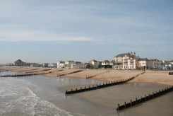View of Worthing from the pier