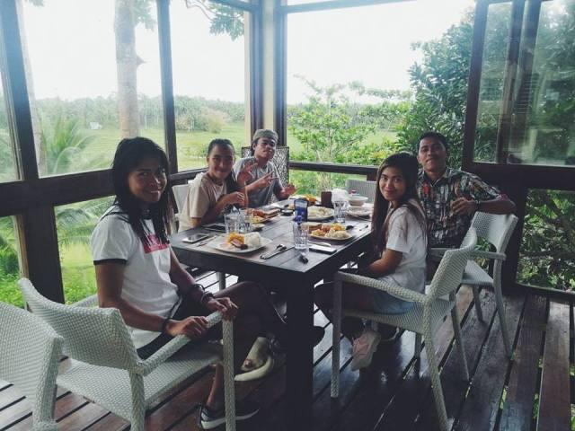 Had a great breakfast in Villa Maya Siargao before going back to Cebu