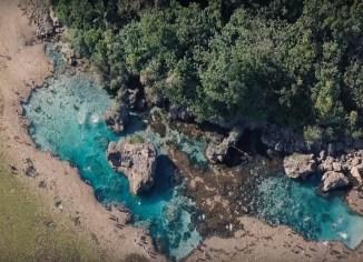 Magpupungko Tidal Pool Pilar Siargao Island