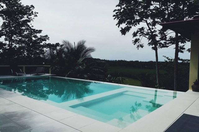 Outdoor overlooking pool in Villa Maya Siargao