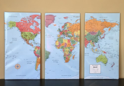 Track your travels with this crafty DIY map! | The Travel Medley