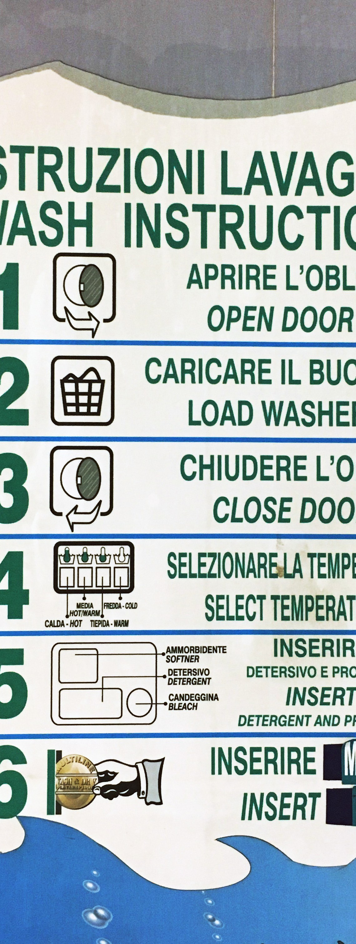 Laundromat Washing Abroad | Florence | The Travel Medley