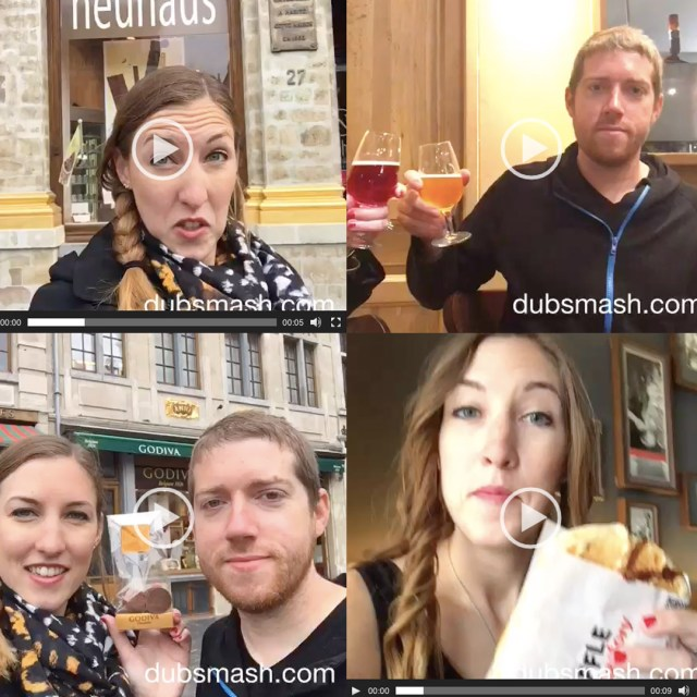 Dubsmash Roundup | Brussels | The Travel Medley