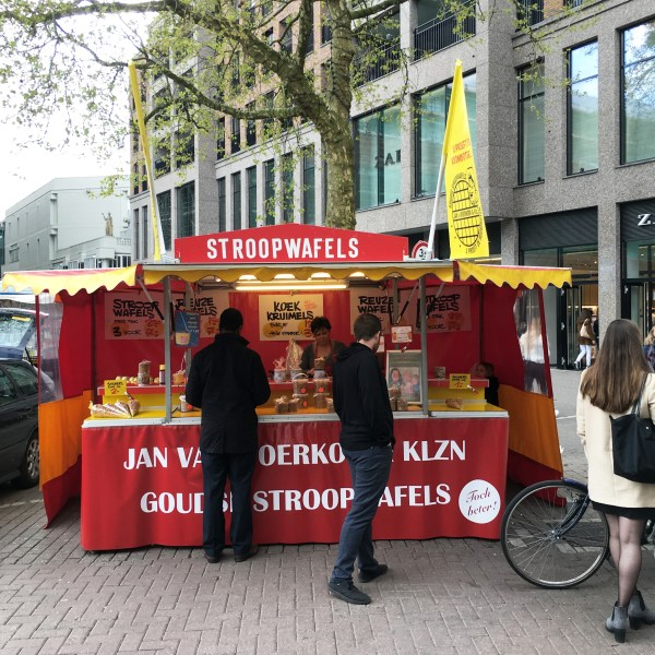 Stroopwafel stand in Rotterdam | The Netherlands | The Travel Medley