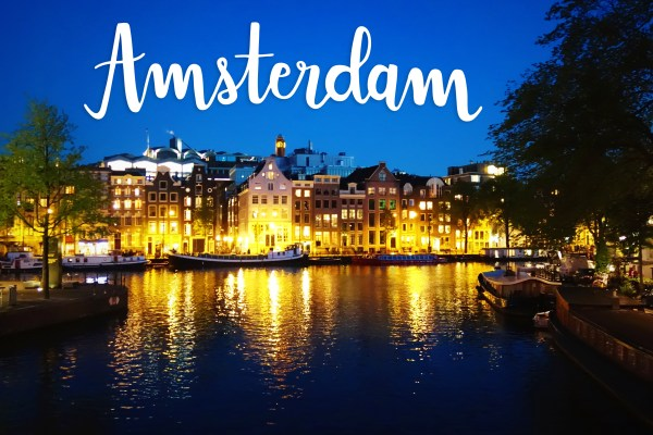 Amsterdam Canal Art Print | The Netherlands | The Travel Medley