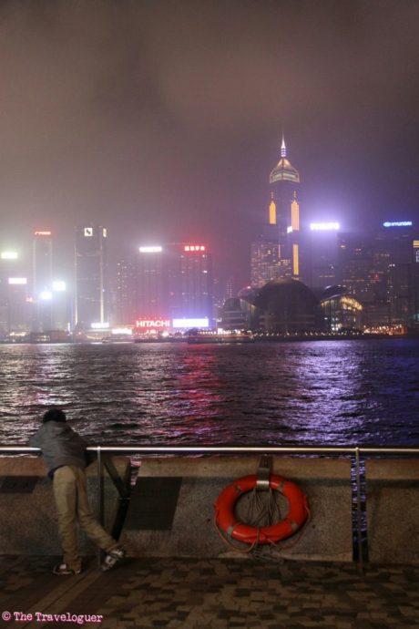 hong kong skyline festival of lights