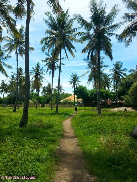 gili air indonesia tropical paradise