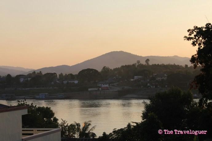 slow boat to luang prabang from chiang mai view from huay xai
