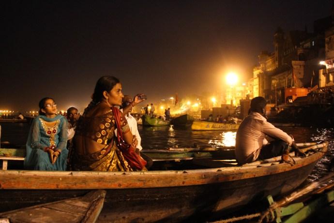 Varanasi - Ganges boat