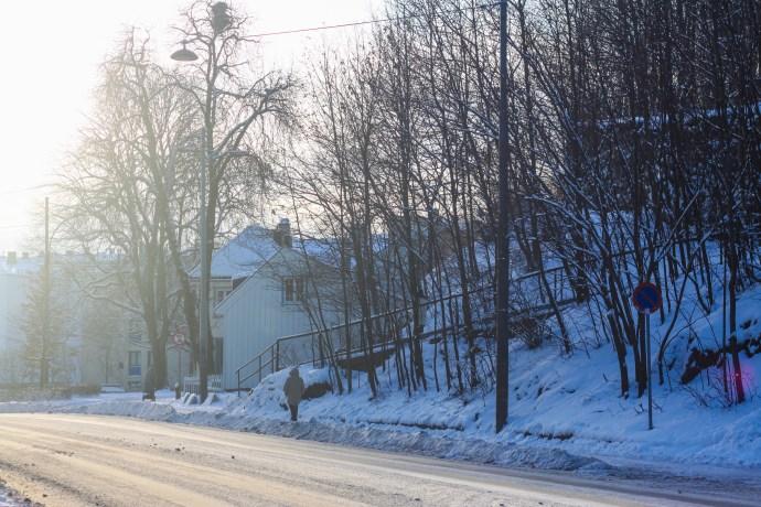Oslo streets, Vulkan - a winter wonderland - thetravelgouer.com