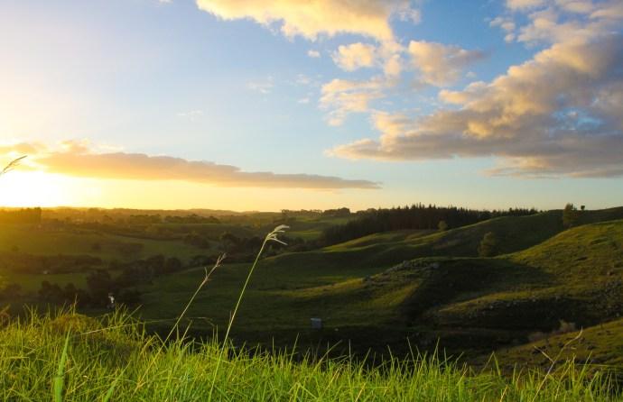 Sunset in Keri Keri New Zealand - thetravelouger