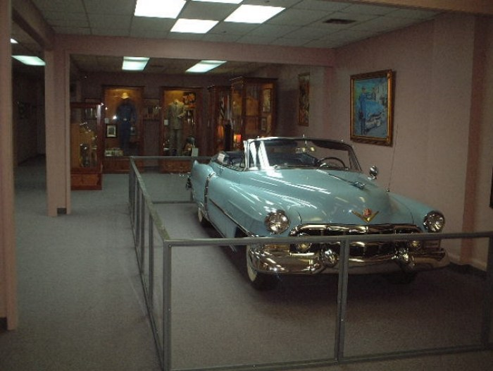 The Car Hank Williams Died In, in the Hank Williams Museum in Montgomery, Alabama