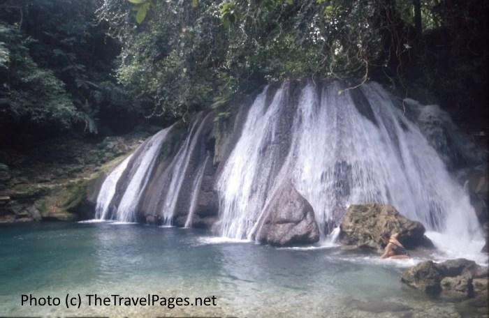 Reich Falls in Jamaica