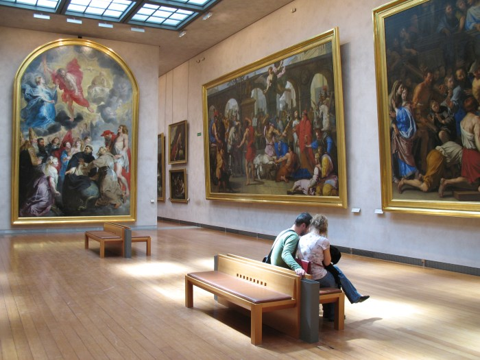 The Musee des Beaux Arts in Lyon, France
