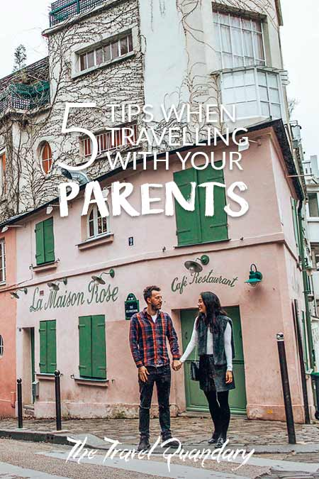 Pin to Pinterest: Top Tips When travelling with your parents