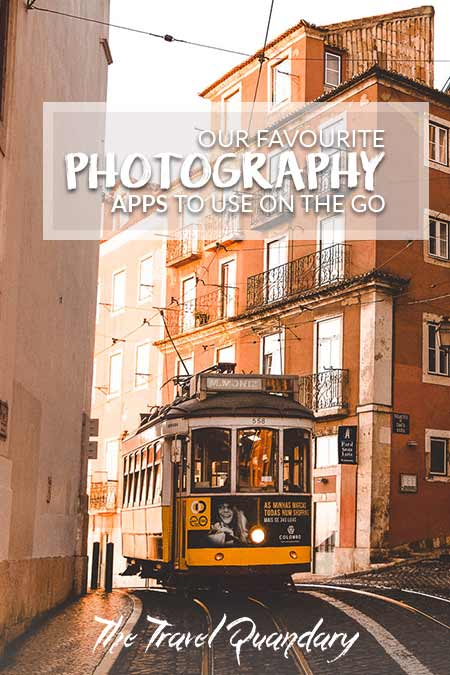 The famous yellow tram 28 goes past in Lisbon, Portugal