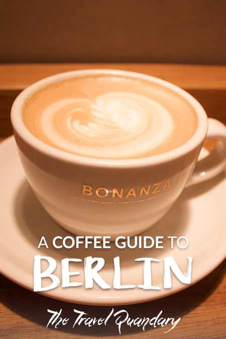 A flat white at Bonanza Coffee Roasters, Berlin, Germany