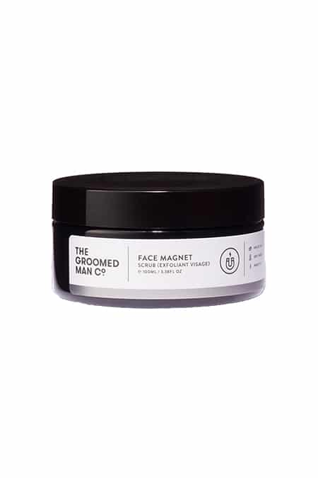 The Groomed Man Co Face Magnet Scrub