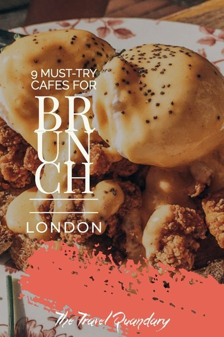 Pin Photo: Best Cafes for Brunch in London