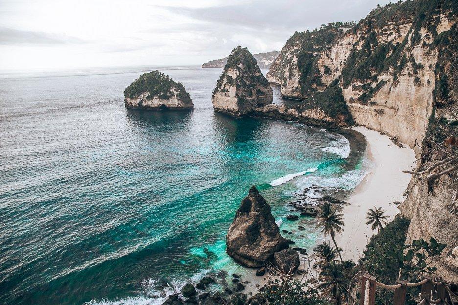 Diamond Beach at sunrise, Nusa Penida, Bali Gallery